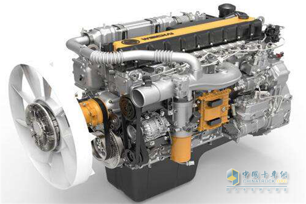 Weichai WP10H engine