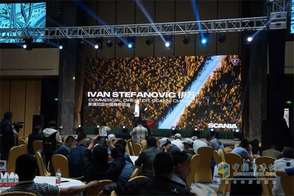 Mr. Ivan, Sales Director of Scania China