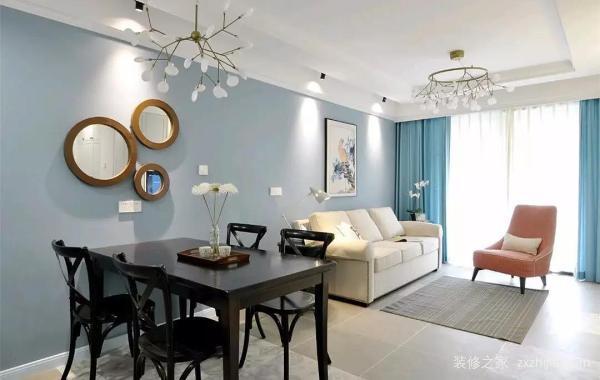 现代三室两厅装修风格
