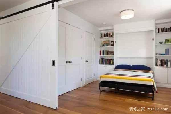 Bedroom partition renderings