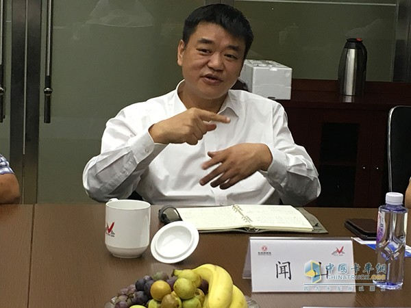 Wenshan, general manager of Dongfeng Motor Trading Co., Ltd.