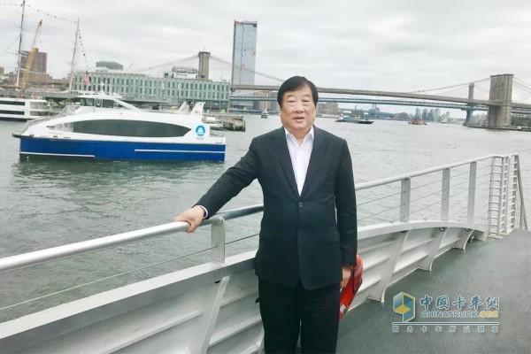 Tan Xuguang, Chairman of Weichai