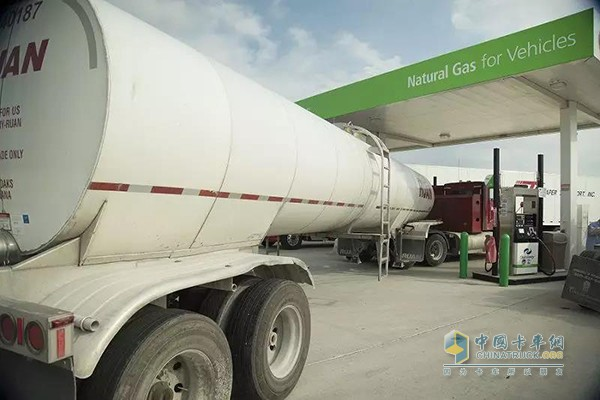 Trucks from Fair Oaks Farm in Northwestern Indiana use renewable natural gas to deliver milk in the Midwestern United States