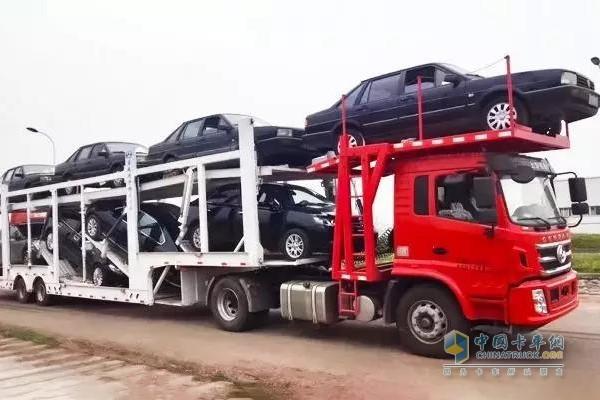 SAIC Hongyan Central Axis Car