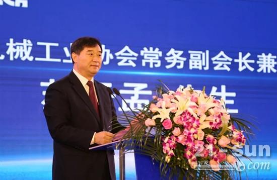 中国工程机械协会常务副会长兼秘书长苏子孟