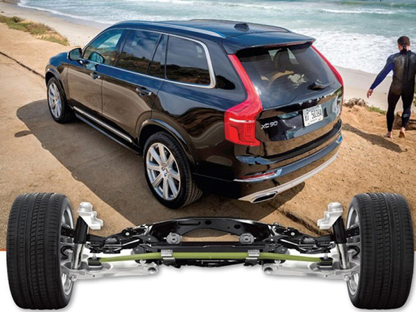 Volvo's new XC90 crossover SUV