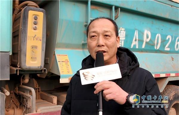 Haiwo hydraulic cylinder user Li Zhonghua