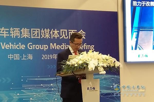 Fang Jie, President of Eaton Vehicle Group