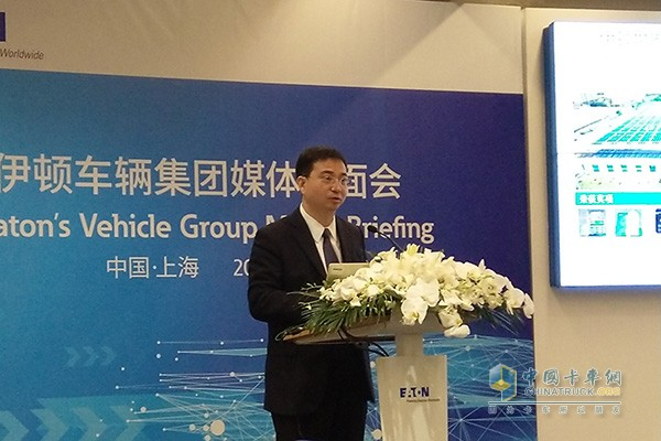 Yang Bo, Vice President of Eton Vehicle Group and Vehicle Electrification Business and General Manager of China
