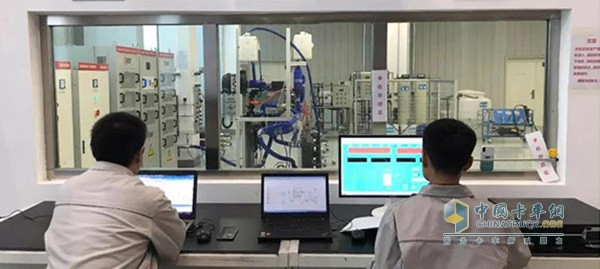 FAW liberation fuel cell engine test bench officially put into operation