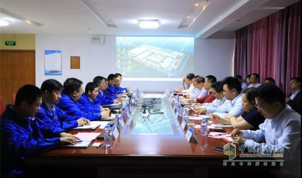 Xi'an Cummins, Dongfeng Cummins, Cummins China Management Team and Shaanxi Automobile Commercial Vehicle Leaders