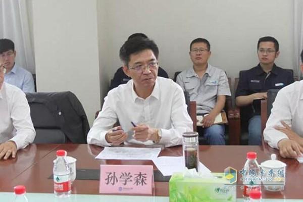 Sun Xuesen, Party Secretary and Director of Binzhou Science and Technology Bureau