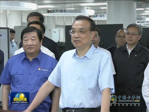 Premier Li Keqiang visited Weichai