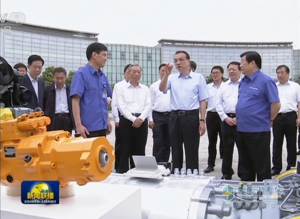 Prime Minister visits Weichai New Energy Industry Technology
