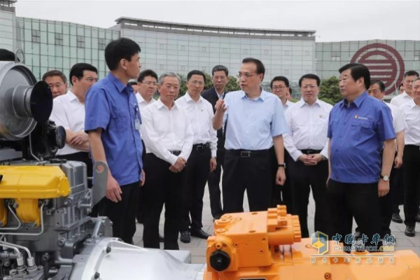 Li Keqiang, member of the Standing Committee of the Political Bureau of the CPC Central Committee and Premier of the State Council, inspected in Shandong