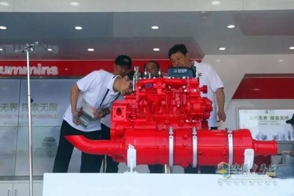 National Six D4.5 engine