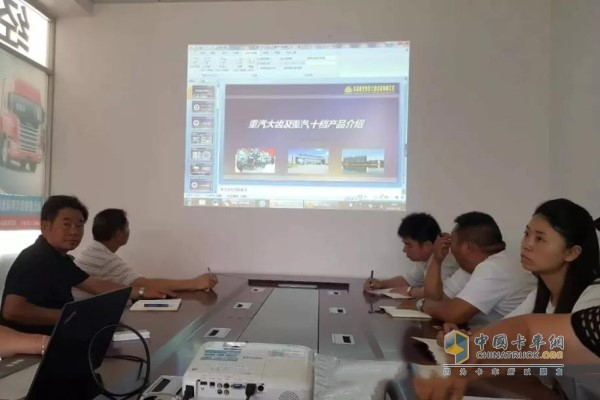 The large tooth sales department visited the important distributor of Hubei Ruizhixin Automobile Sales and Service Co., Ltd.