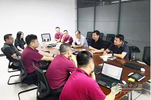 Exchange with Baiyuan, General Manager of Anhui Cummins Power Co., Ltd.