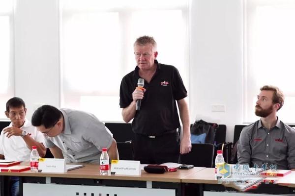 Mr. Michael, Sales Director, Australian Environmental Sanitation, Hayward