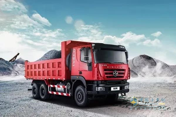 SAIC Hongyan Dump Truck with Shangchai E-Series Engine