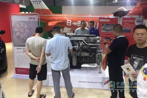 Shangfeihong Cursor9 natural gas engine