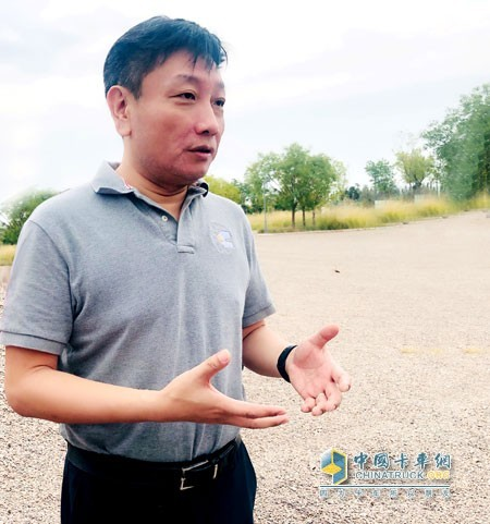 Bai Yuan, General Manager of Anhui Cummins