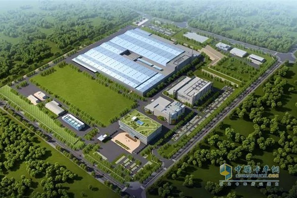 A technical building complex integrating technology centers, factories, office buildings, training centers and ancillary facilities