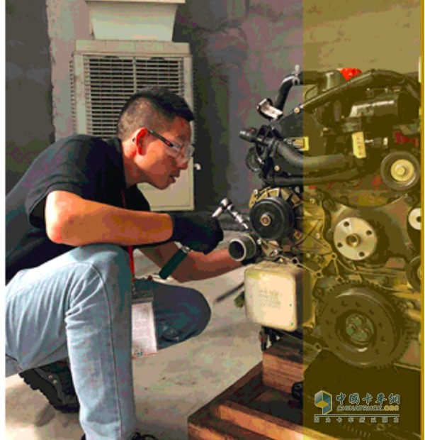 Cummins to the United States, Chengdu, Chengdu, excellent technicians will compete here