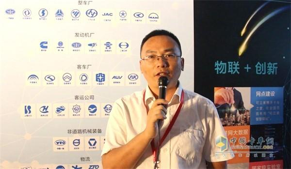 Kelan Su sales director Wang Hongbing