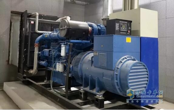 YC6C generator set in Zhengzhou Olympic Sports Center