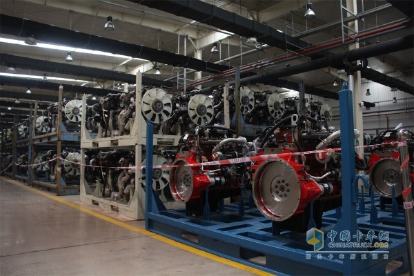 Anhui Cummins Engine Assembly Workshop