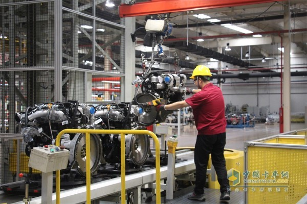 Anhui Cummins engine assembly line