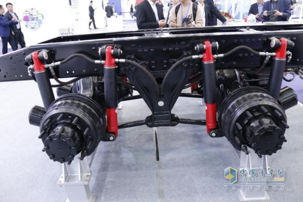 Hydraulic air suspension has a unique performance advantage