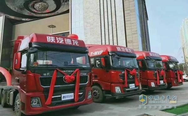 Freight heavy truck with Weichai Golden Powertrain