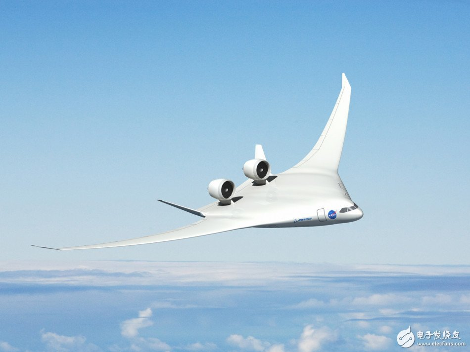 NASA develops new engine technology: mounted on the surface of the aircraft