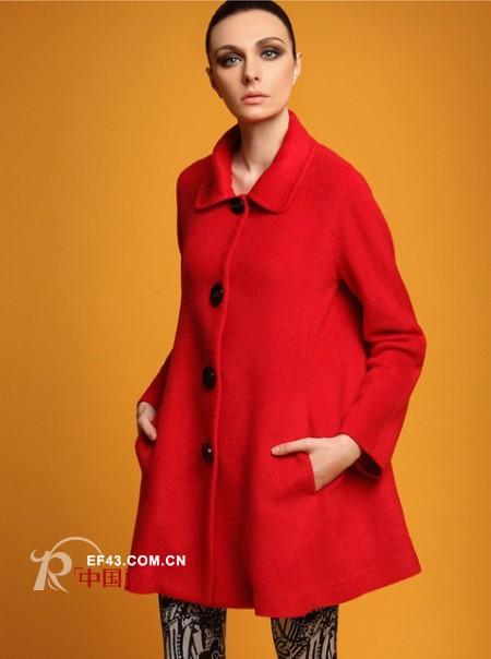 打造冬季至IN造型 CGREC廓形大衣必备款