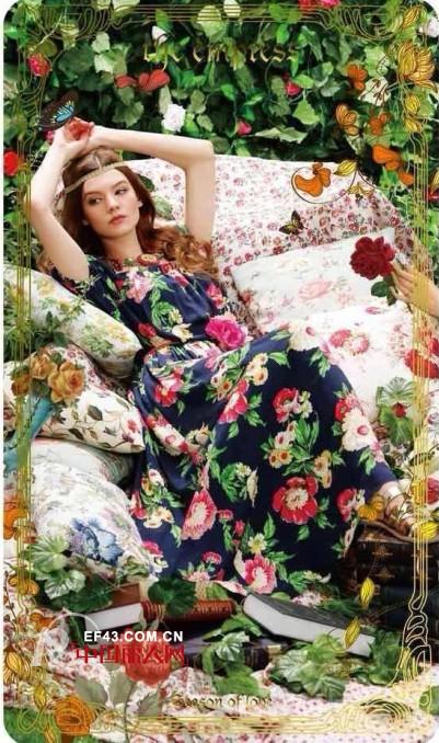 浪漫印花蔓延春季 带来浓浓的法式优雅
