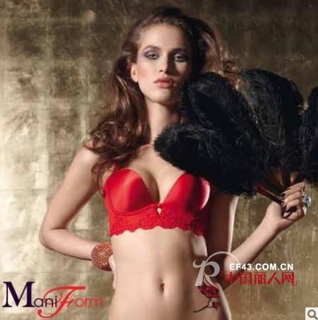 曼妮芬品牌内衣  让女性从内到外散发窒息魅力