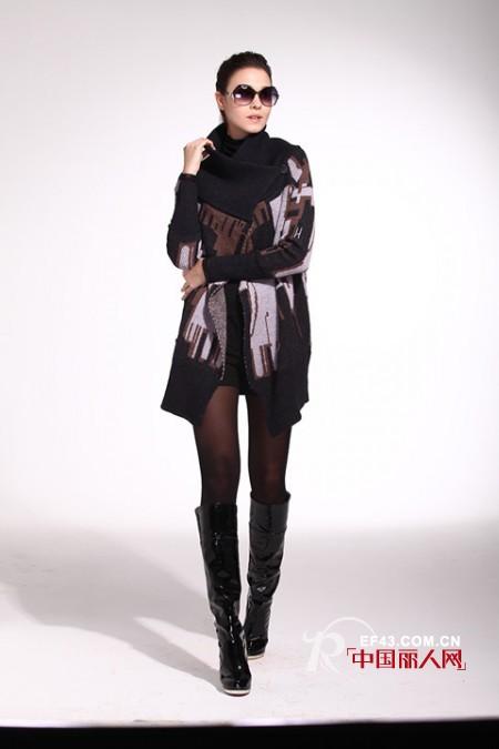 个性女装款式 不规则外套款式搭配