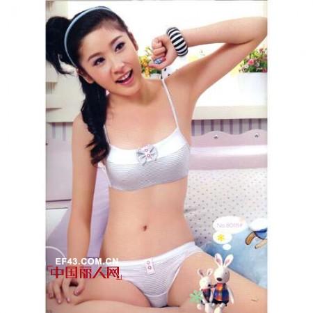 柔淇精品少女内衣 对东方少女爱的付出
