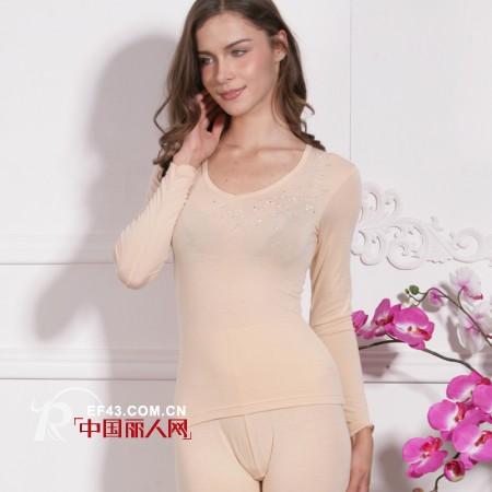 爱帝温泉型超细纤维内衣 轻松保暖更健康