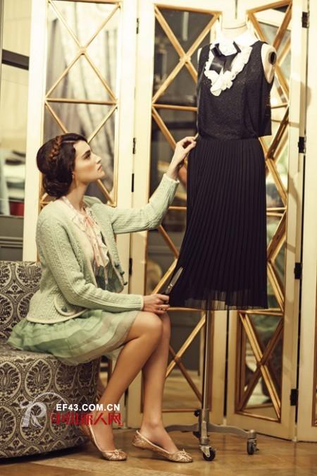 复古风搭配 TITI女装传递宫廷式优雅