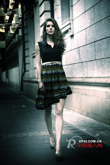 欧妮纳女装 穿出摩登女性的妩媚和优雅