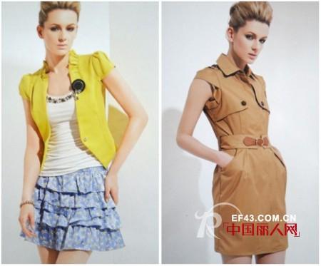 萍叶时尚折扣女装2013年春季新品上市