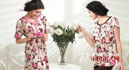 冬季温暖宣言 帕兰朵家居服让您在家一样优雅靓丽