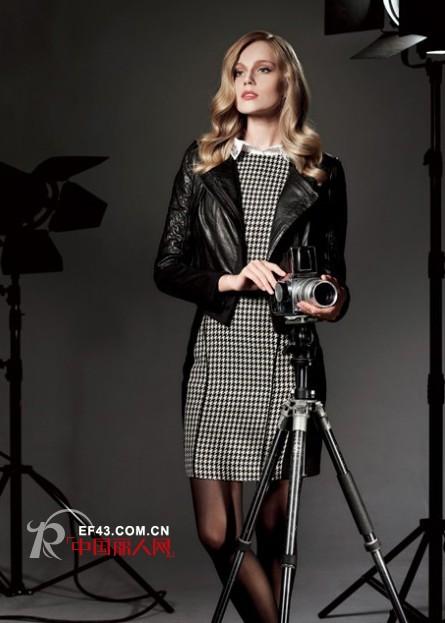 IMILI时尚女装黑色皮衣 倾情演绎各种style