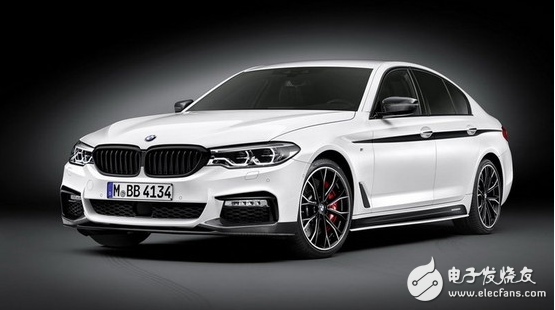 Very high rate of return, very dynamic BMW 5 Series M performance version