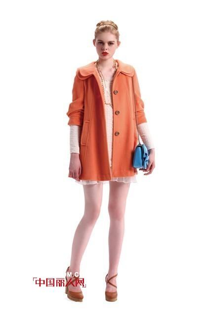 MIGAINO曼娅奴优雅橙色系 温暖冬季