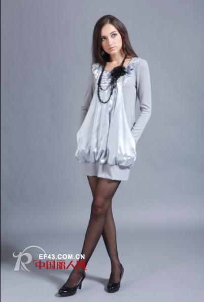 依林凯女装传达出女性的无限魅力和浪漫气息
