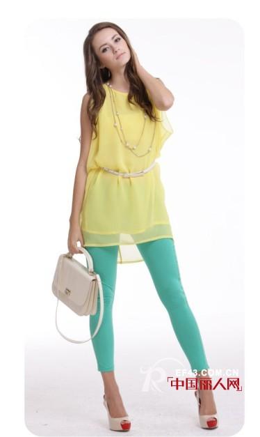 威丝曼女装 夏季柠檬黄点亮你的衣橱